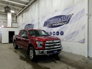 2016 Ford F-150 Lariat 502A W/ Ecoboost, Leather, Sunroof, 4WD