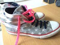 Converse High Tops UK size 4.5/5