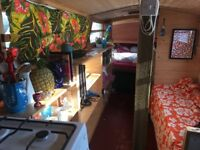 Beautiful Boat on the Tranquil river Lea, Hackney - short rent 1-3 months or long rent 12 months