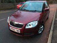 08 plate - skoda fabia - one year mot - warranted low 65 k on the clcok