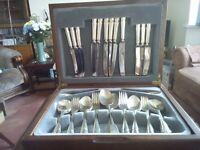 Cutlery set, boxed 44 pieces
