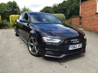 2013 62 AUDI A4 Black Edition 1.8 TFSI - S Line, Bang & Olufsen, S4 Replica