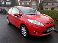 2010 '59' Fiesta 1.4 Tdci Zetec Climate Bluetooth £20 Year Tax Mot January 2018 corsa clio size