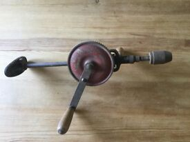 Vintage Shoulder/Hand Drill. Two Speed Facility.
