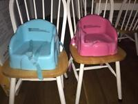 Booster seats x2 by safety 1st