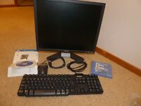 Dell package (Monitor, Keyboard, Mouse & Software)