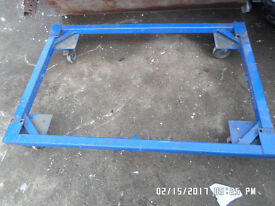 I have two heavy gauge 2x2in box iron trolleys ,,