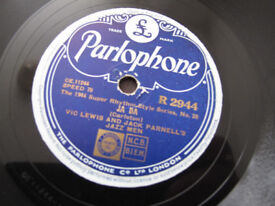 Records - Vintage 78rpm - Blues x5