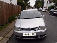 2001 VW Polo 1.4 Petrol Manual