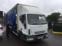 IVECO CURTAINSIDER LORRY