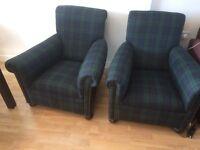 Antique Scottish Armchairs excellent condition