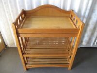 MAMAS AND PAPAS PINE BABY CHANGING TABLE UNIT NURSERY FURNITURE