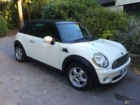 2009 Mini cooper CONVERTIBLE, Auto, one female owner