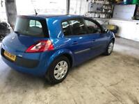 Renault Megane 43000 miles automatic 1.6 petrol