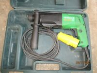 Hitachi SDS 110 volt Hammer drill model DH24PB