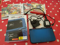 Nintendo 3DS XL (Boxed) with games