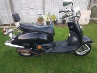 Tamoretti retro 125 4 stroke, swap for kids motorbike