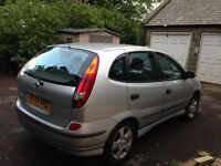 2004 Silver Almera Tino Top of the Ranger - Spares or Repair - Air Bag Light On