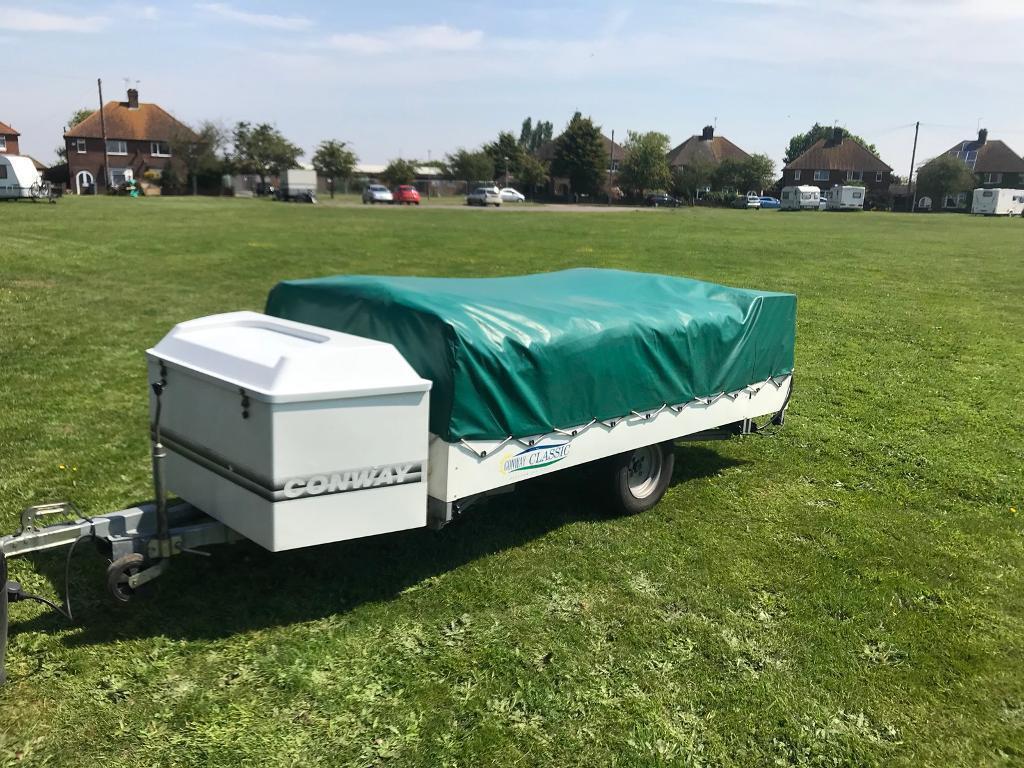 Conway Classic Trio Trailer Tent