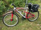 "Apollo Radar 20"" inch mountain bike with extras"