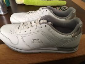 White size 6.5 trainers new