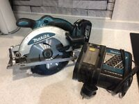 Makita rip saw 18v