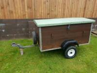 5ft x 3ft suspension trailer, great condition