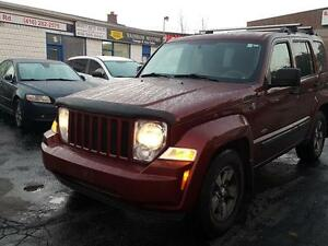 2008 Jeep Liberty Sport 4WDL,AUTO P.Group LOADED CERTIFIED$7975