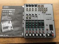 Yamaha mw10c usb portable mixing studio