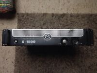 Wharfedale S-1500 Professional Power Amplifier
