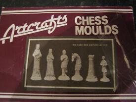 richard the lionheart chess set moulds