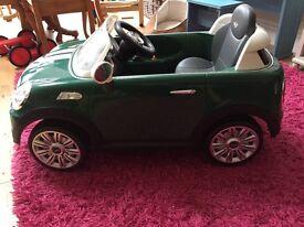 Mini Cooper Coupe Electric ride on
