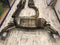 Audi RS3 8V Exhaust and Cat
