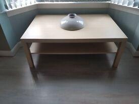 Large Ikea Coffee Table With Shelf Underneath