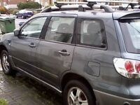 MITSUBISHI OUTLANDER SE 2,4 LPG, 2005, PERFECT ENGINE, GEARBOX NEEDS ATTENTION QUICK SALE