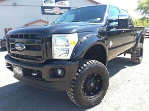 2013 Ford F-350 LARIAT LIFTED 4X4 POWERSTROKE DIESEL!!