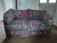 Small 2 seater sofa bed FREE to collect