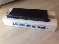 Alesis Midiverb III with original box