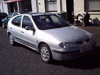 1999 V RENAULT MEGANE 1.6 RT SPORT ALIZE AUTOMATIC ** 70650 MILES ** MOT 29TH MARCH 2017 **