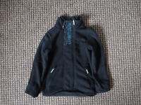 7-8 year old boys black Bench Fleece Jacket