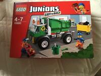 Brand new Lego junior bin lorry