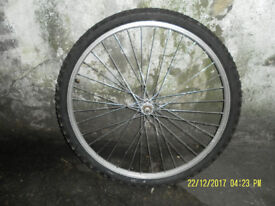 26 x 175 ALLOY FRONT Wheel (incl. tyre)