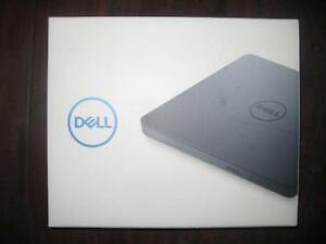 Dell External DVD / RW USB Slim DVD Drive. Slim Design. Light Weight. Plug and Play. CyberLink Media Suite. USB Cable