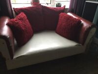 2 Seater Sofa / Chaise Longue /Single Bed all in one!