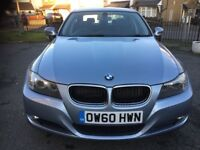 BMW 2011, 3 series, I drive, E90, leather interior with full black seats, 5 door, sat nav