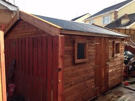 heavy duty garden shed