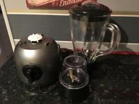 James Martin Glass Blender with Grinder