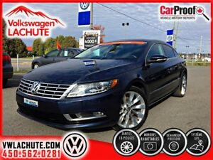 2013 Volkswagen CC HIGHLINE+NAV+CUIR+FINANCEMENT DISPONIBLE !!