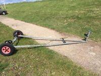launching trolley suitable for dinghy around 14ft.