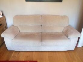 3 seater and 2 seater sofas in excellent condition
